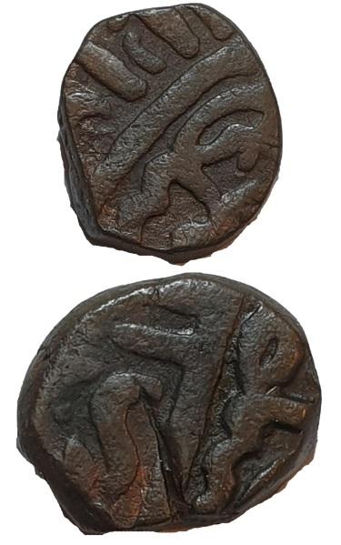 Kasu de Rajaraja I. Imperio Chola. Conquista de Sri Lanka Ik210