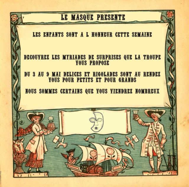 Affiches théâtrales placardées en ville. Affich11