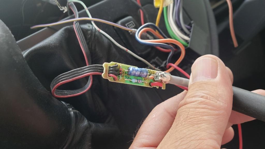 Branchement auto-radio MB W638 20210710