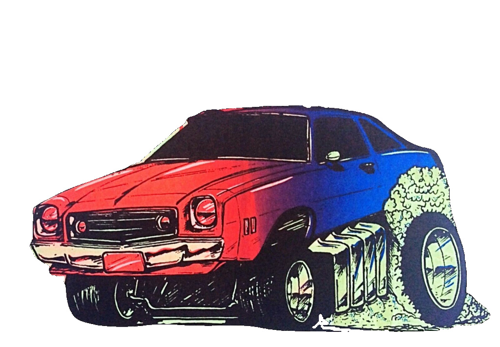 I had a shirt made with this image. 1973_c10
