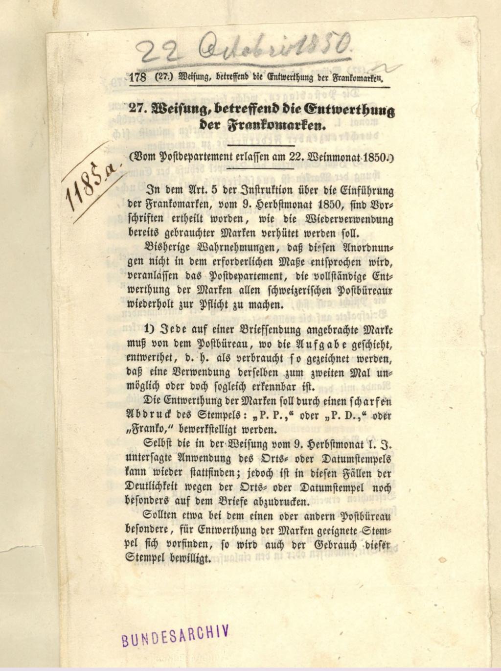 1850 Einführung der Briefmarken Bildsc12