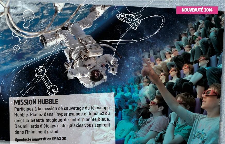 Mission Hubble (Imax 3D 2014, Omnimax 2015) Captur10