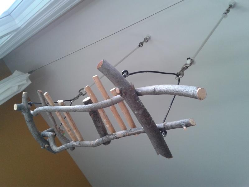 Deux petits bricos:Une échelle à cordes et un jouet suspendu Brico_11