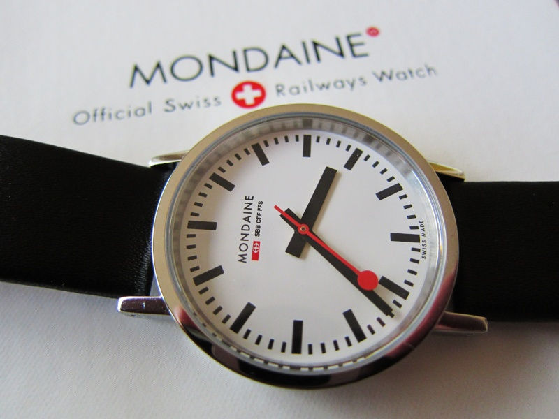 Mondaine Classic Gents Polished quartz Img_1014