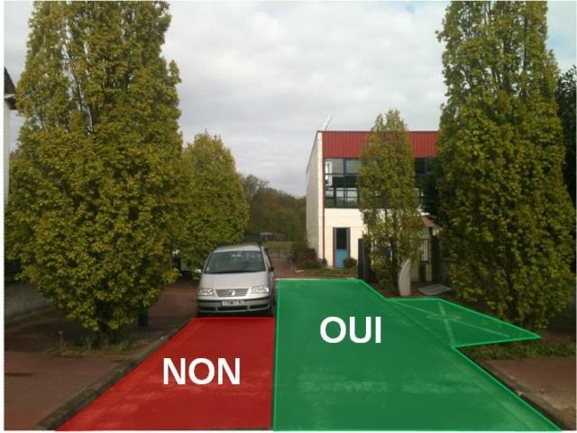 Stationnement devant le Local BENITO Du Jardin Parisien Statio10