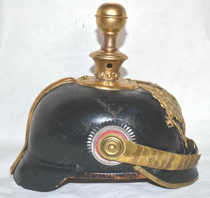 Casque à Pointe Officier Prussien Artillerie - mdl 1895 Dsc_0049