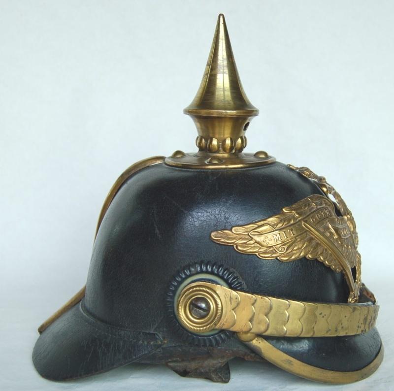 Casque à Pointe - mdl 1871 - Grenadier de la Garde Dsc_0115