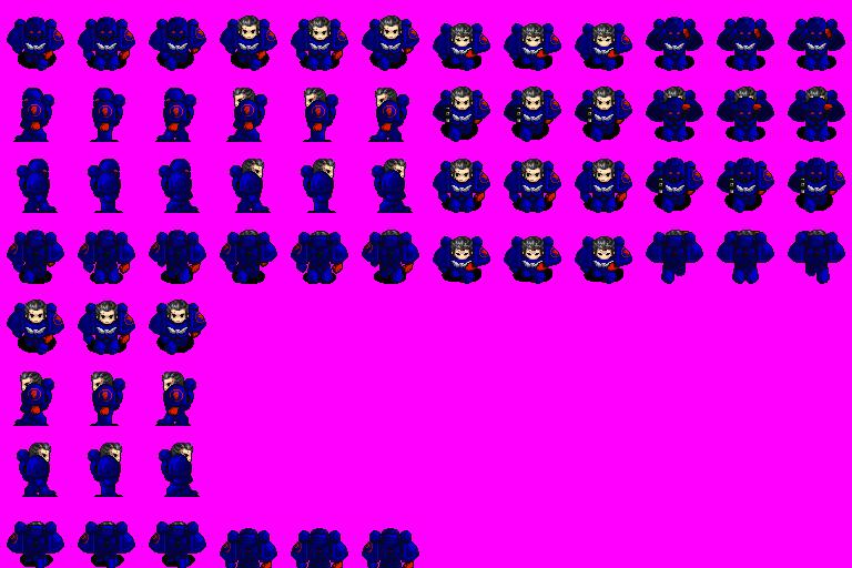 Characters Warhammer 40.000 Massif10