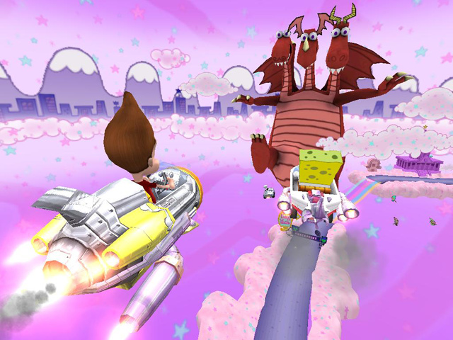 Nicktoons Nitro Racing Nick610