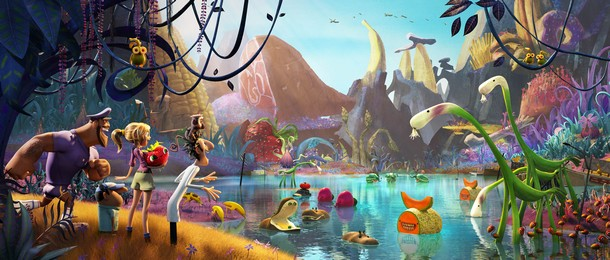 CLOUDY WITH A CHANCE OF MEATBALLS 2 - Sony Pictures - 2014 Tempet10