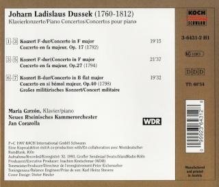 Jan Ladislav Dussek (1760-1812) - Page 2 Back12