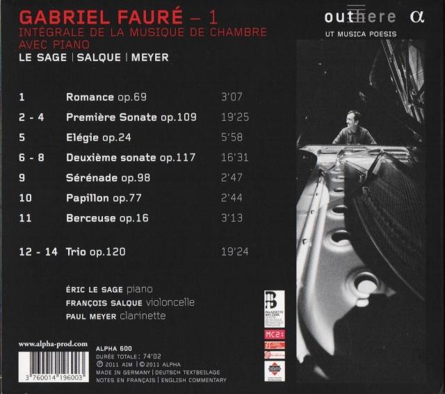 Gabriel Fauré (1845-1924) - Page 2 Back20