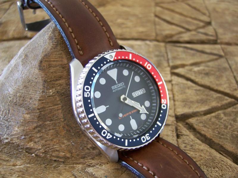 Bracelet cuir pour seiko diver 200 Seiko_10