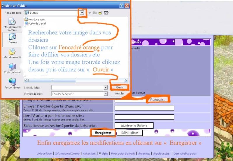 Comment avoir son propre avatar sur le forum Projet12