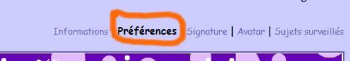 Comment insérer votre signature à la fin de vos messages Projet14