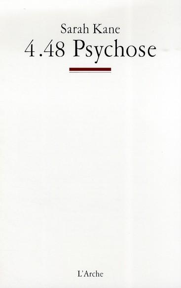 [Kane, Sarah] 4.48 psychose 97828510