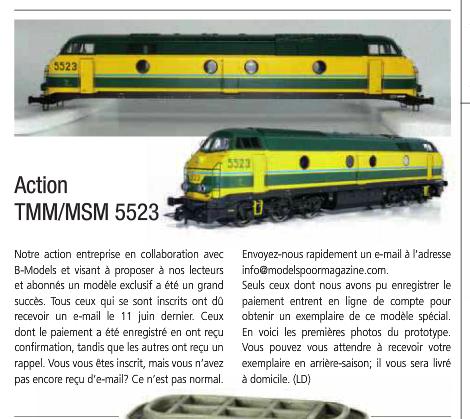 Action 5523 SNCB du TrainMiniatureMagazine - Modelspoormagazine 5523sn10