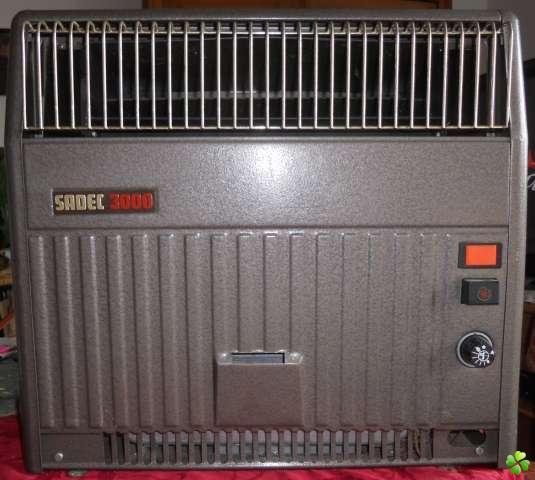 fonctionnement d'un chauffage sadec 300 s.o.s Chauff10