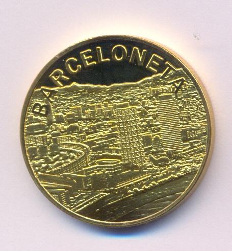 Medalla Souvenir Barcelona Collection Barcel10