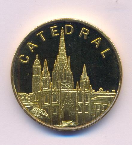 Medalla Souvenir Barcelona Collection Barcel11