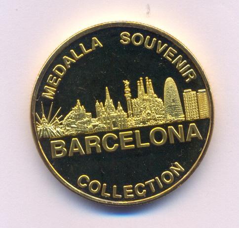 Medalla Souvenir Barcelona Collection Barcel13