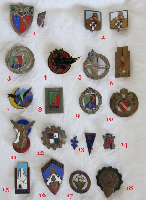 Insignes toutes armes Divers11