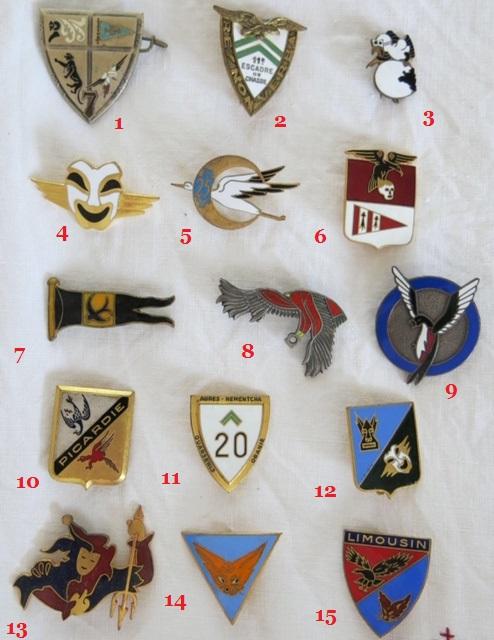 Insignes toutes armes Escadr11