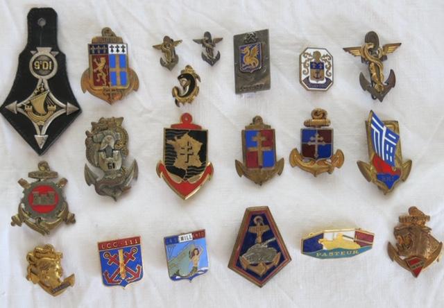 Insignes toutes armes Marine10
