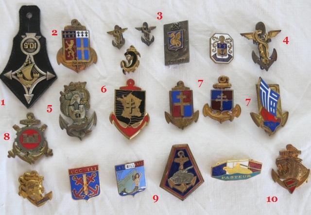 Insignes toutes armes Marine11