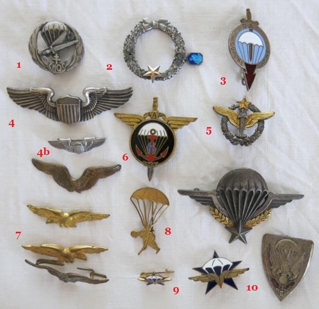 Insignes toutes armes Para_e11