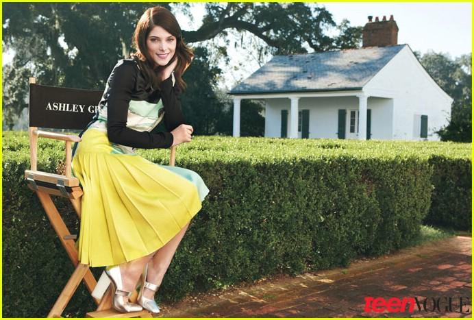 Teen Vogue : Mars 2011 Ashley19