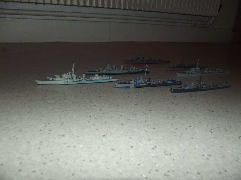 destroyers américains  et britannique au 1/700 Dscf3811