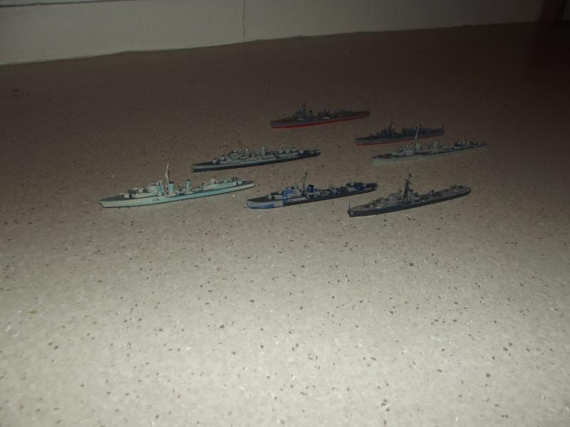 destroyers américains  et britannique au 1/700 Dscf3812
