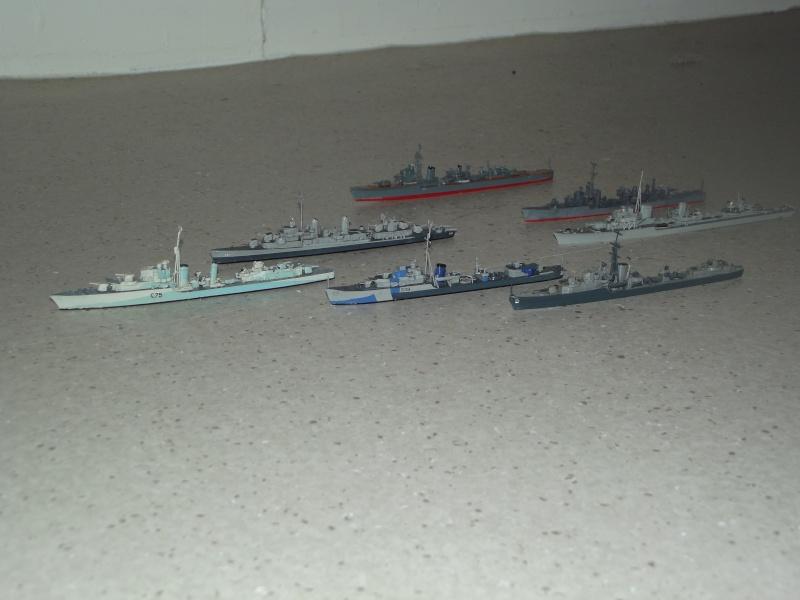 destroyers américains  et britannique au 1/700 Dscf3813