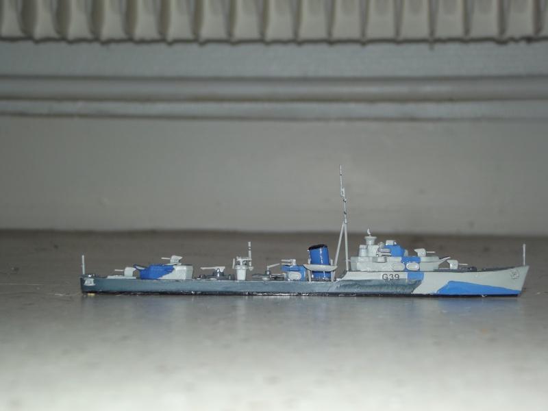 destroyers américains  et britannique au 1/700 Dscf3817