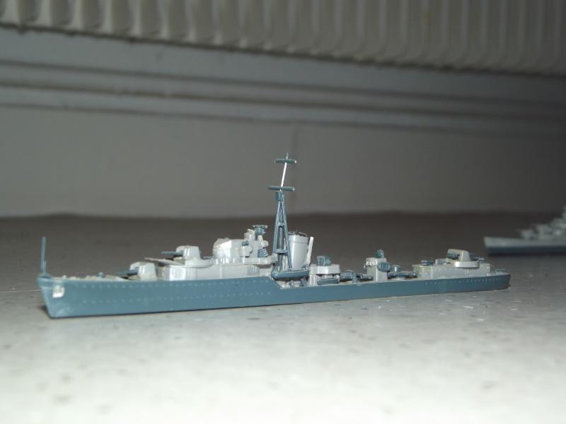 destroyers américains  et britannique au 1/700 Dscf3820