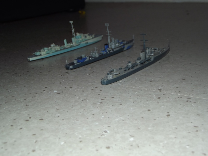 destroyers américains  et britannique au 1/700 Dscf3824