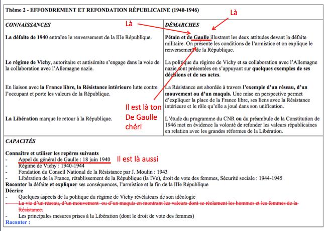 Lettre ouverte à Franck Ferrand, ou comment De Gaulle a disparu des programmes d'histoire Captur17