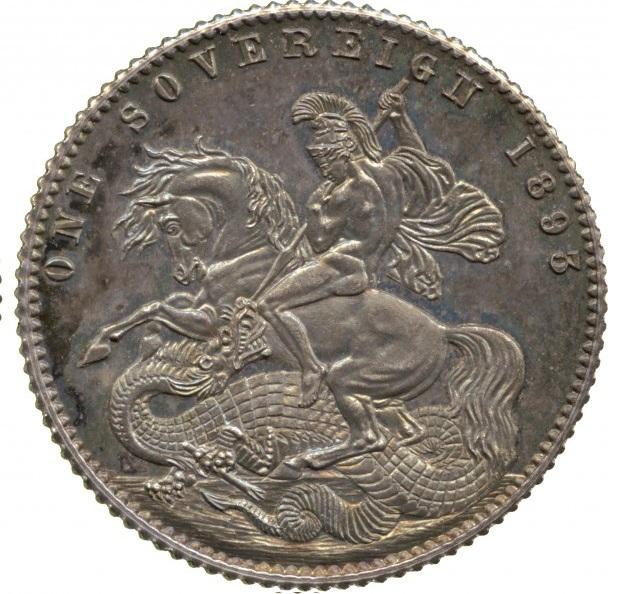 1 Sovereign. Gran Bretaña. 1893 70942710
