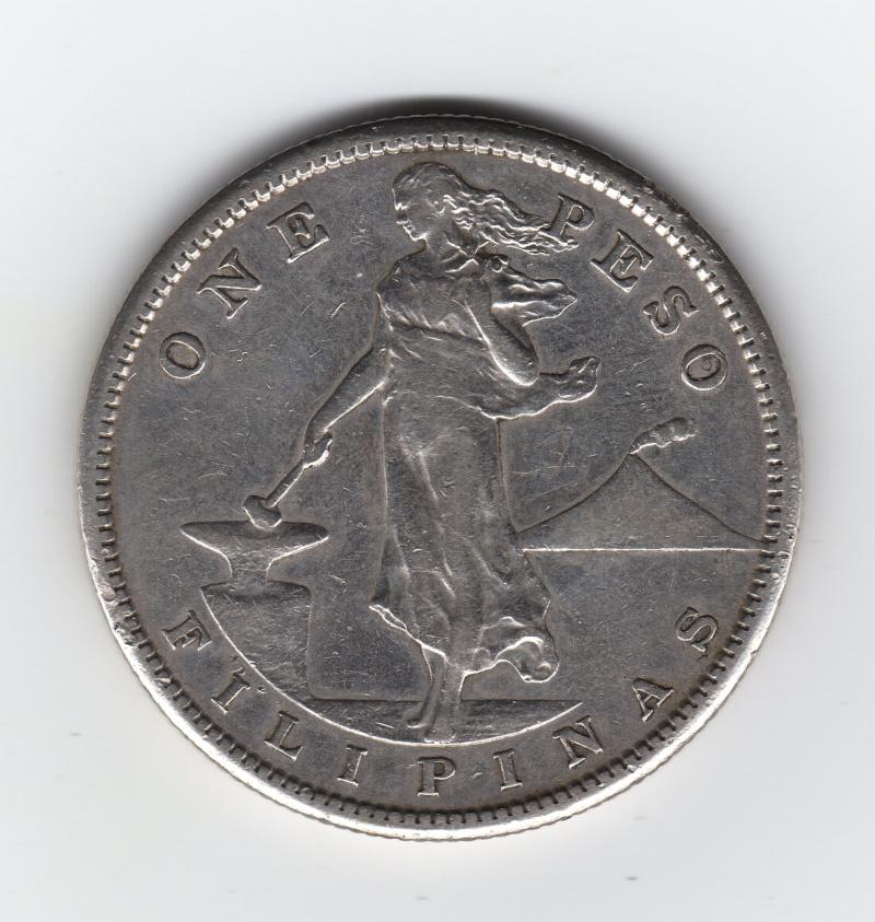 1 Peso. Filipinas. 1908. San Francisco Img53810