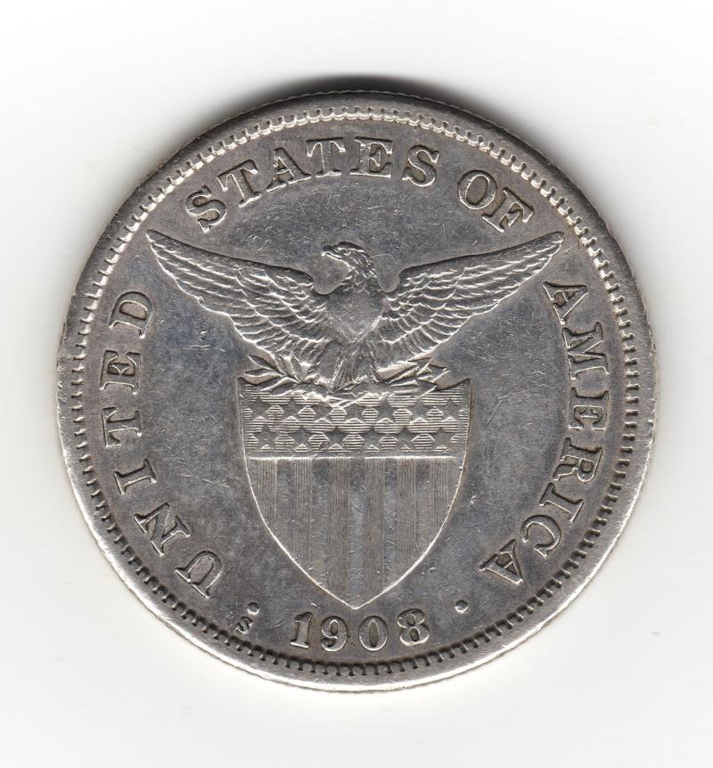 1 Peso. Filipinas. 1908. San Francisco Img53910