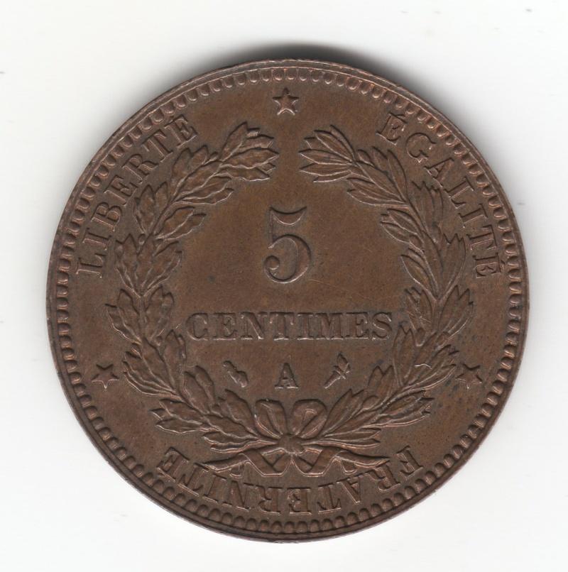 5 Céntimes. Francia. 1897. París Img59010