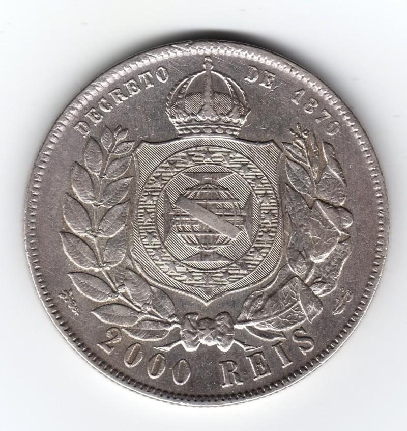 2.000 Reis. Brasil. 1888. Rio de Janeiro Img59310
