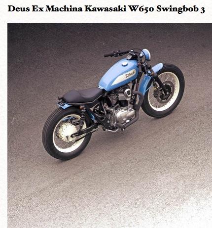 Deus Ex Machina Kawasaki W650 Swingbob 5 Pictur21