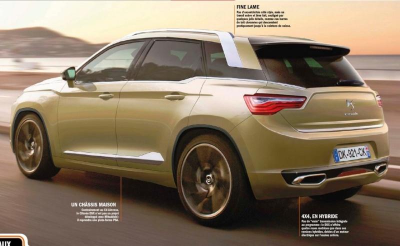 Le mini SUV Par Mercedes Benz, le GLA Concept (X156) Dsx21010