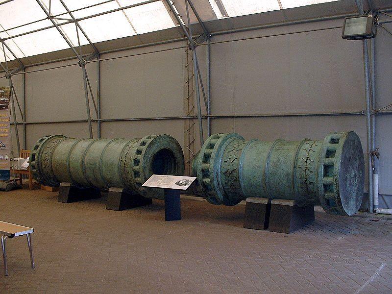 Dardanelles Gun bombardes de siège Ottomanes en bronze 800px-10