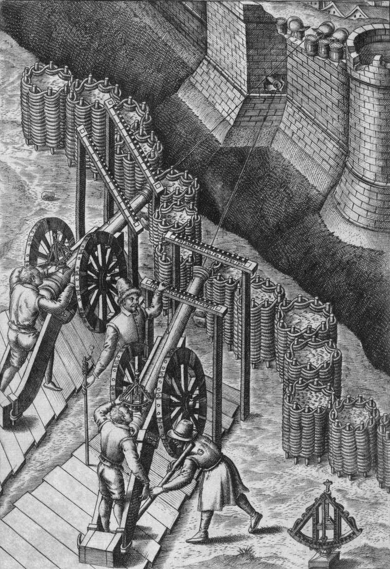 système de pointage pour canon XVe ? ( Quadrant d'artillerie, clinomètre )  Sixtee10