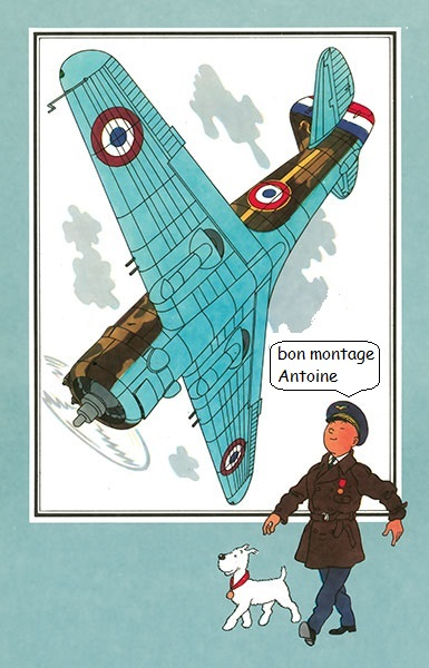Curtiss Hawk 75 A N° 140 du capitaine Josef Duda Hobby craft 1/48 013_av11