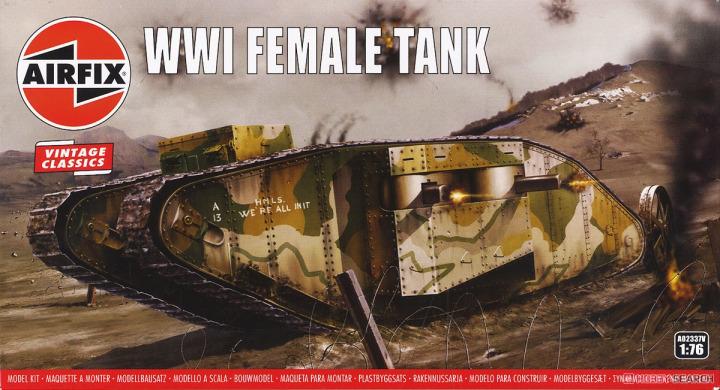 Tank Mark I ( Airfix 1/76° ) 11899811