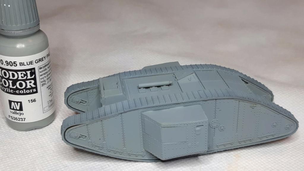 Fil rouge 2021 * Tank Mark II (T.S.F) Airfix 1/76° *** Terminé en pg 5 1217